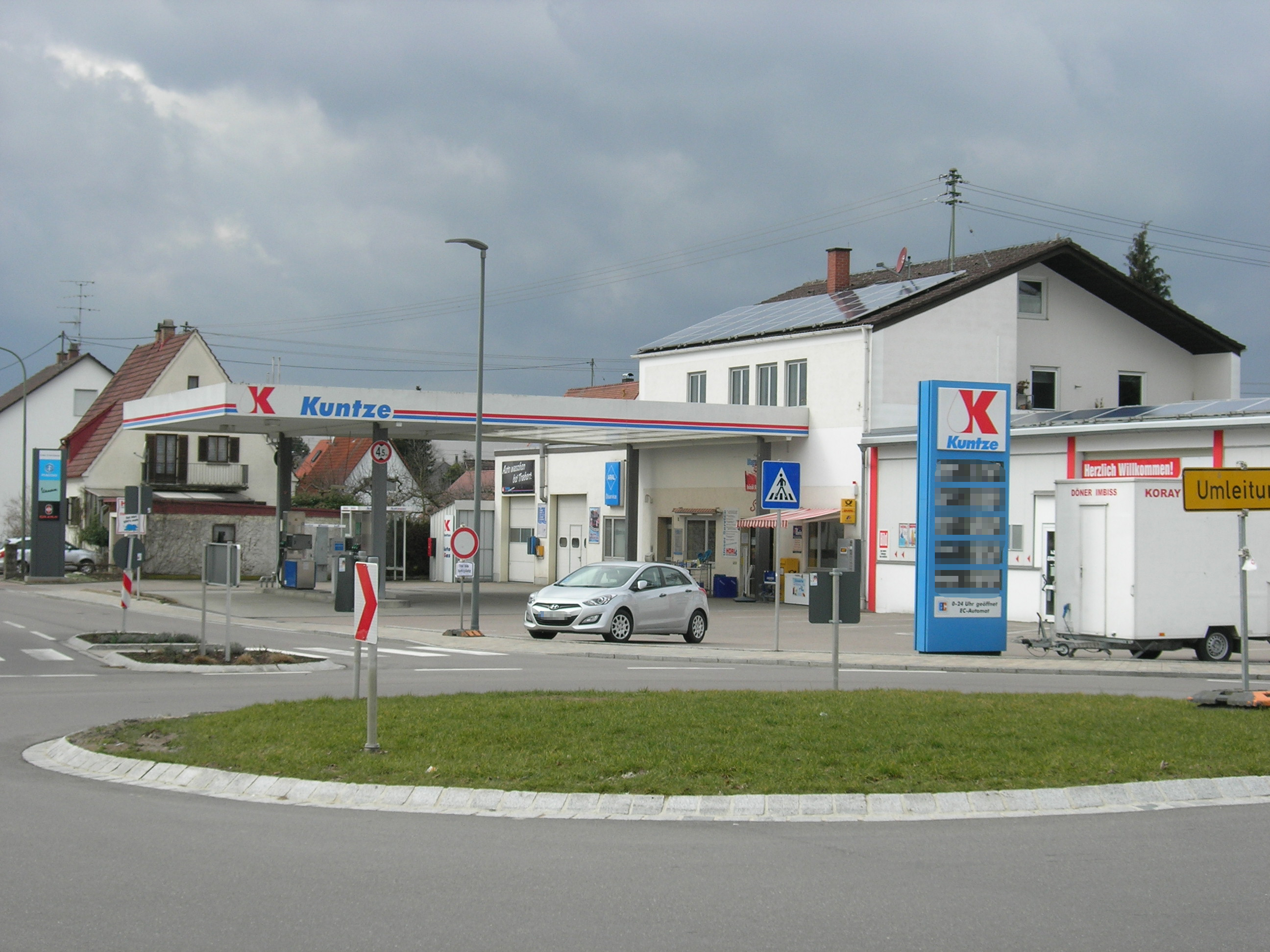 Tankstelle Kuntze